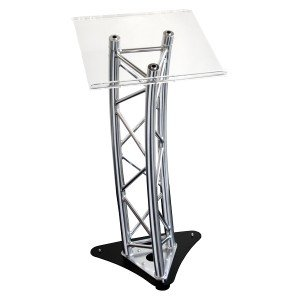 Absolute Chrome Truss Podium Lectern