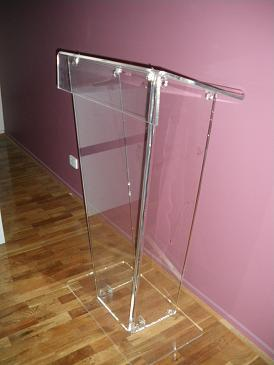 Absolute Acrylic Perspec Lectern