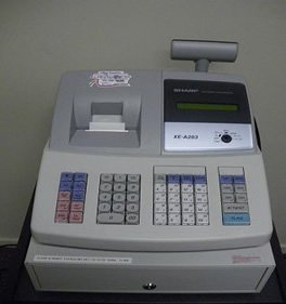 Sharp XE-A203 Cash Register for hire
