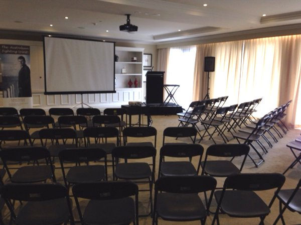 Aveo Retirement Village Camberwell - Event Furniture & AV Equipment Hire - delivered, set-up, installed and removed