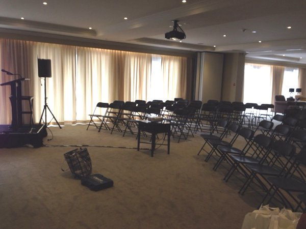 Aveo Retirement Village Camberwell - Event Furniture & AV Equipment Rent - delivered, set-up, installed and removed