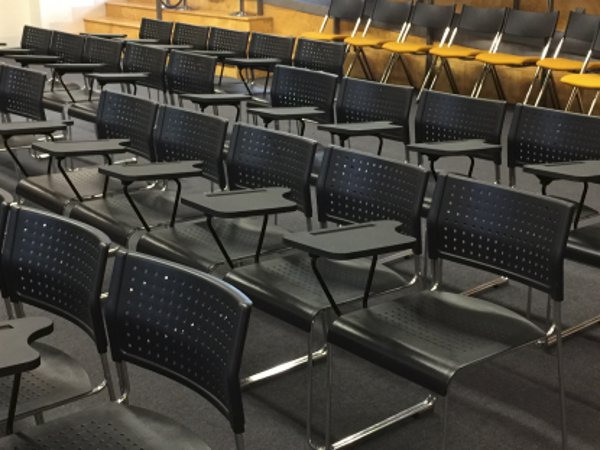 Computershare Conference Rental / Event Rent - 160 of tablet arm lecture theatre chairs