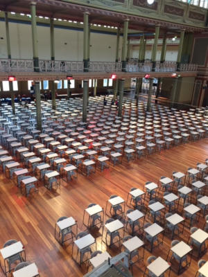 Examination Tables & Chairs for rent at Royal Exhibition Building Melbourne