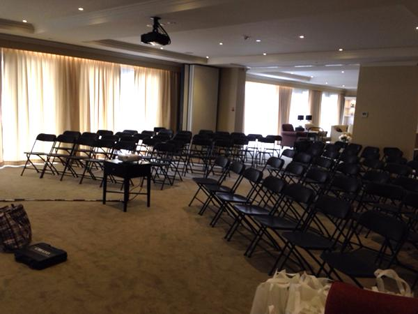 Set up of Meeting Chair & PA Equipment Rent Project