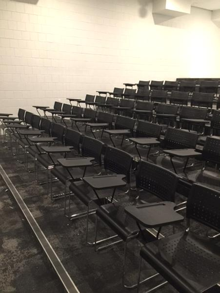 170 Tablet Student Chairs Hire Project