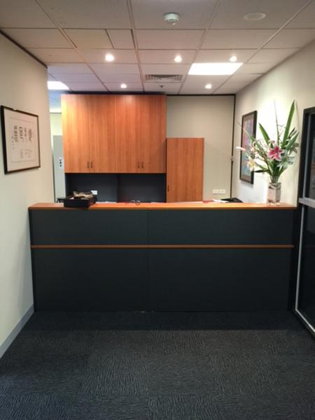 Renovation / Rebuild of Reception area at St. Vioncents Hospital